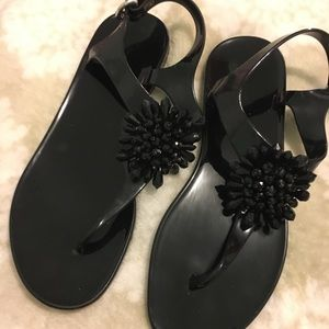 Coach plastic sandals